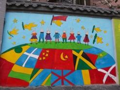 Jinan, mural
