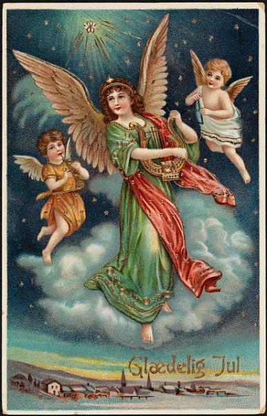 christmas card old