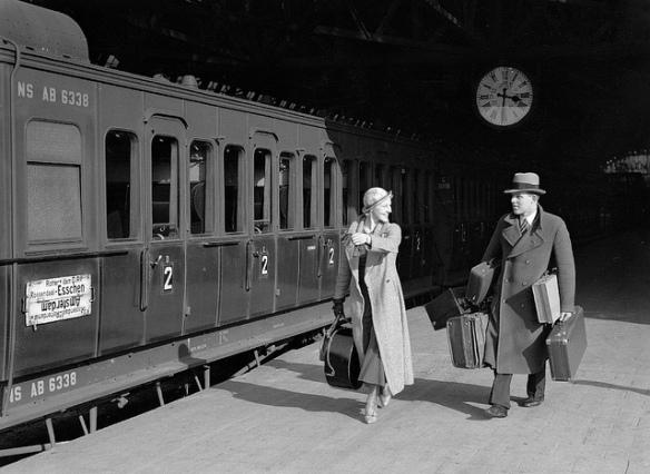 Isn't train travel romantic?