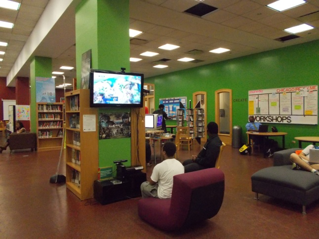 Inside the Chicago Public Library's YouMedia