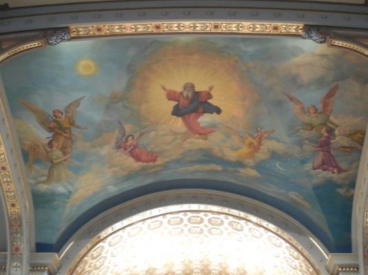 Ceiling, Notre Dame Basilica, Chicago