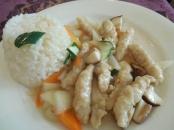 """Russian"" chicken & rice"