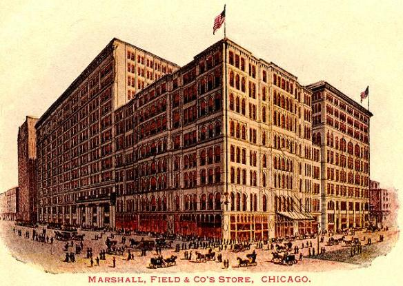Marshall Fields where he innovated shopping