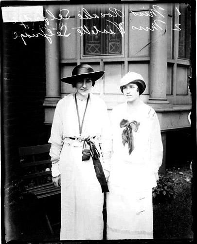 Rosalie and Violette Selfridge