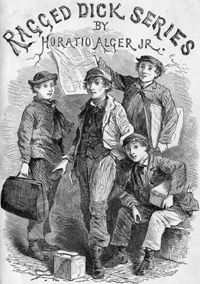 Cover of Ragged Dick by Horatio Alger