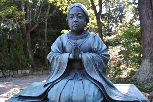 At Chion Temple, Kyoto Japan