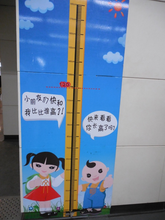 Kids over 130 cm pay adult rate