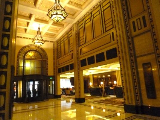 Peace Hotel Lobby