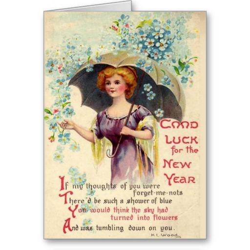 vintage new year