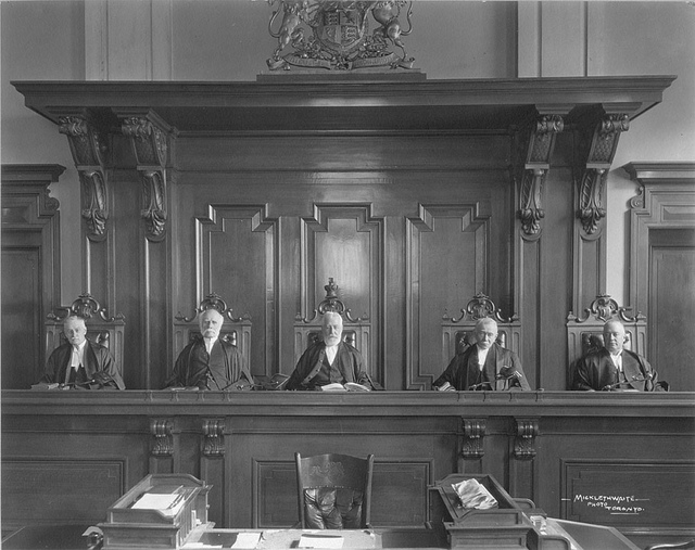 Judges - First Appellate Division