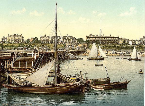 Clacton-on-the-Sea, England (1880-1900?)