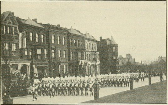 Virginia militia parade 1920s