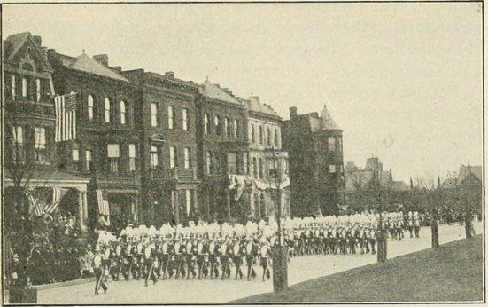 Virginia militia parade 1920s
