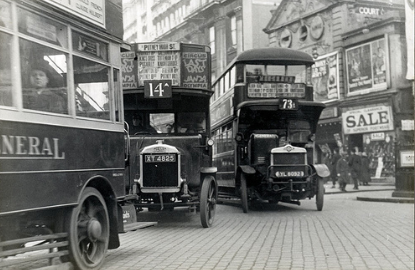 Traffic, London 1927, London Transport Museum