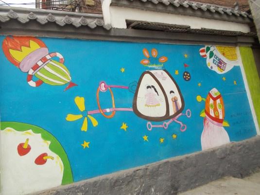 Mural, Jinan, China