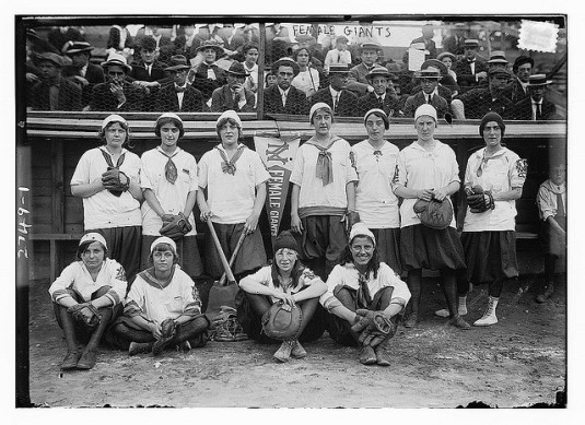 Team spirit: NY women's baseball team