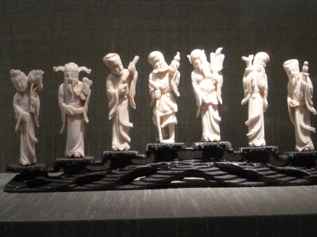 Carved Ivory, Suzhou Museum