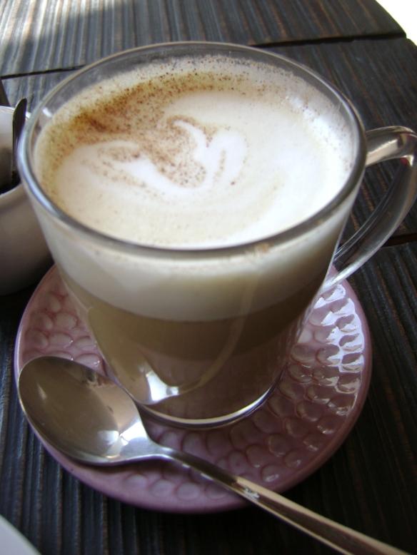 Cappuccino in Kathmandu