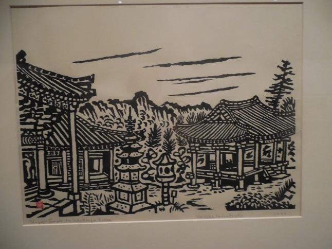 Japanese Print of Seoul