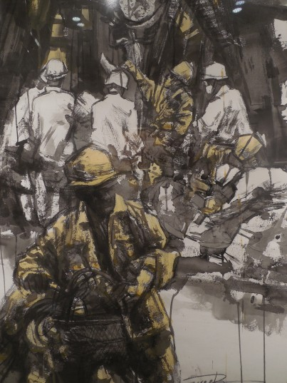 Painting - construction workers
