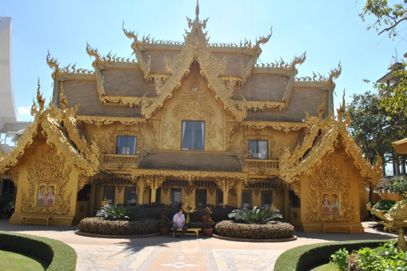 White Temple (the gold part) Thailand