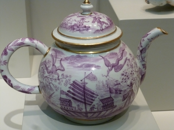 A teapot, though it's rather fancy