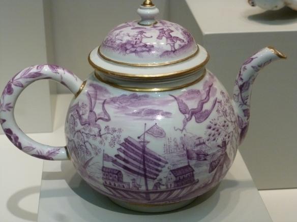 A teapot, though it's rather fancy