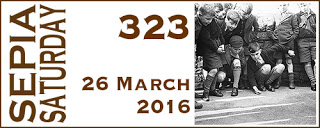 Sepia Saturday Header - 323