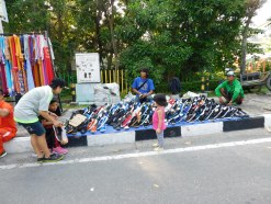 Vendors at Car-free Day