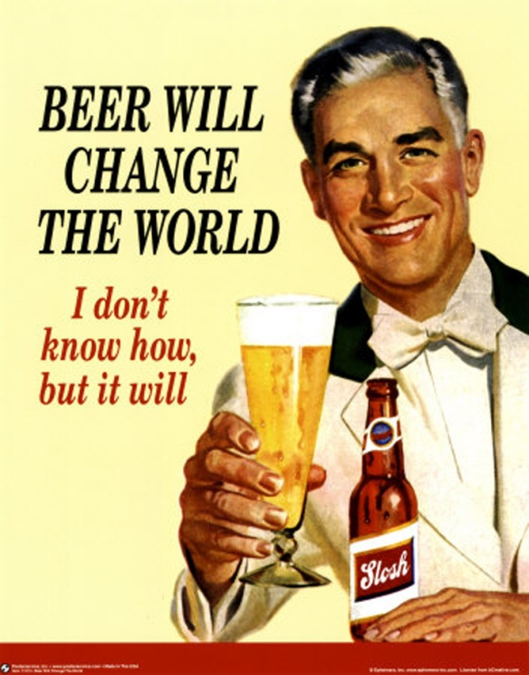 beer change world