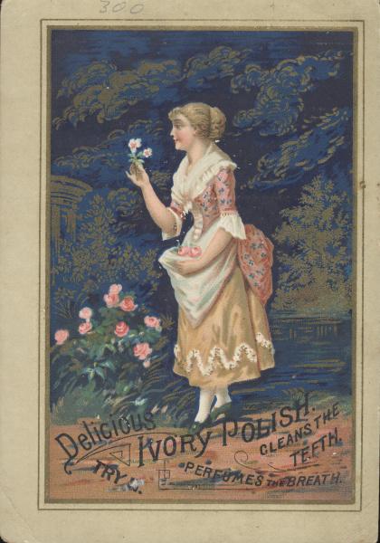 flowers ivory girl