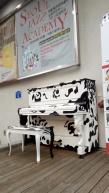 Seoul, transformed piano