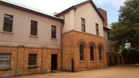 Convicts' Barracks Museum, Sydney Australia