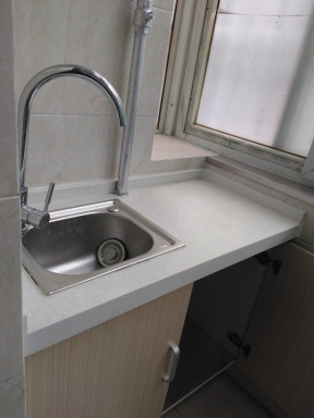 Sink and counter