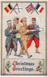 WWI Christmas card