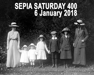 Sepia Saturday 400 Header : 6 January 2018