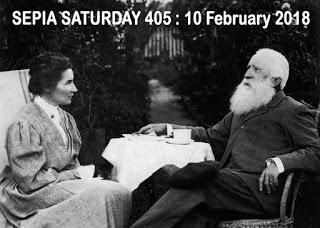 Sepia Saturday Header :  405 10 February 2018