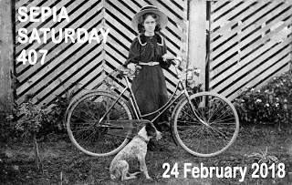 Sepia Saturday Header : 407  24 February 2018