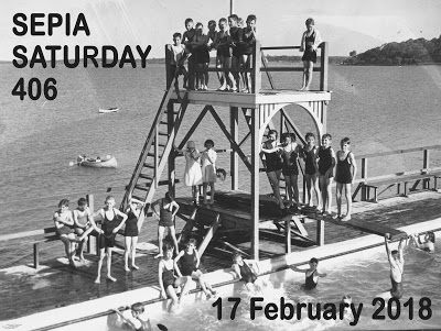 Sepia Saturday Header : 406 17 February 2018