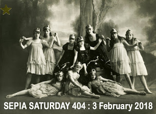Sepia Saturday Header : 404 3 February 2018