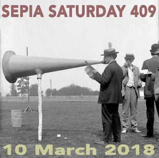 Sepia Saturday 409 Header