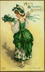 Vintage St. Patrick's Day Postcards (6)