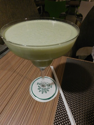 Persena drink in Pekanbaru (with green apple juice)