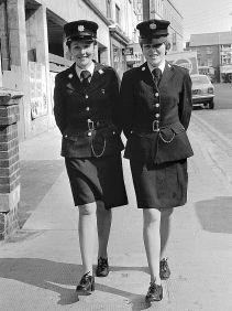 Irish police officers, mid-20th century