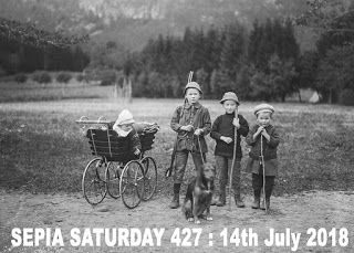 Sepia Saturday Theme Images - 427  14th July 2018