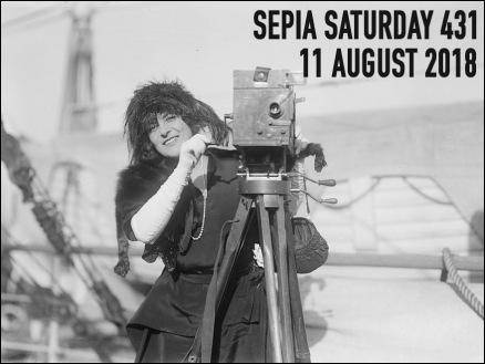 Sepia Saturday Header 431 : 11 August 2018