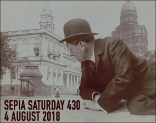 Sepia Saturday Header 430 : 4 August 2018