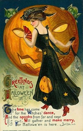 Vintage Halloween Postcards (11)