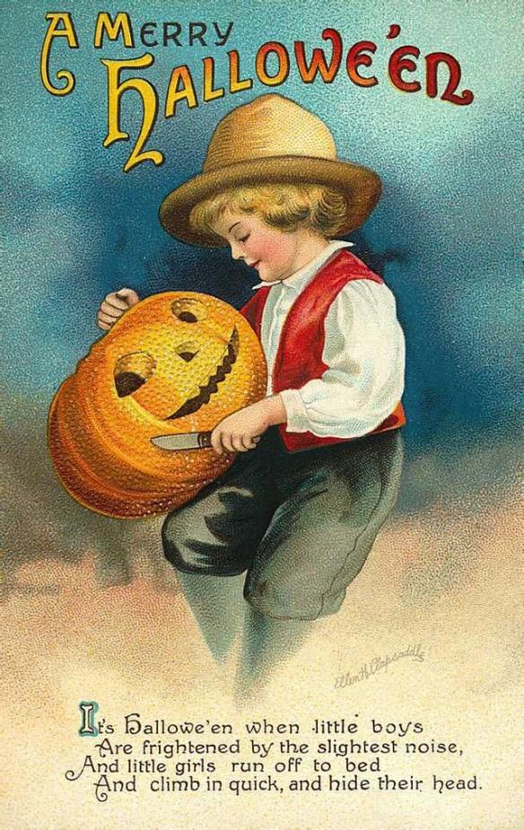 Vintage Halloween Postcards (9)