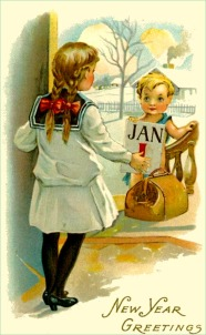 new-year-cards-old-vintage-children-first-of-january